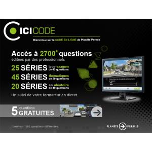 Accès code en ligne